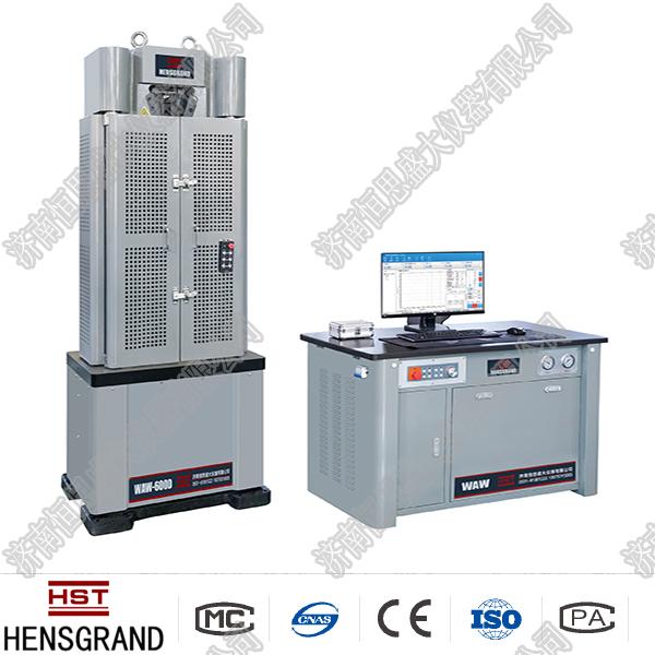 300kNwei机控制dian液伺服万能机